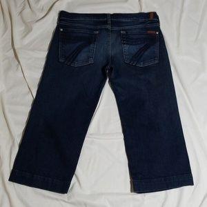 7FAM Capri Jeans
